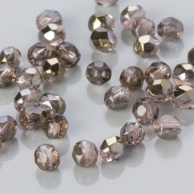 Zdjęcie - Fire Polish Bronze Iris Rosaline (ZR70110) 4mm