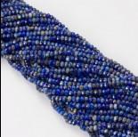 Zdjęcie - Lapis lazuli oponka fasetowana 4x3mm