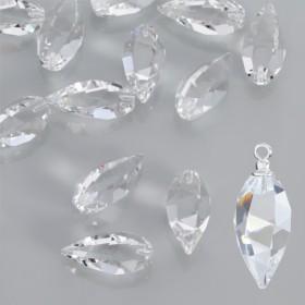 Zdjęcie - Swarovski twisted drop crystal 20mm