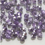 Zdjęcie - Fire Polish Coated 1/2 Silver/Violet (K2208CR) 3mm