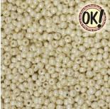 Zdjęcie - Koraliki SeedBeads Round 8/0 Opaque Dark Beige