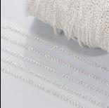 Zdjęcie - Łańcuch simple w srebrnym kolorze 2.2mm