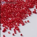 Zdjęcie - Koraliki Miyuki Delica 11/0 Silver Lined Red Dyed