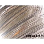 Zdjęcie - Drut srebrny do wire wrapping'u 0,7mm