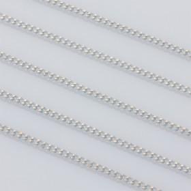Zdjęcie - Łańcuszek pancerka powlekany 1.9x2.5mm biały