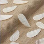 Zdjęcie - Masa perłowa zawieszka skrzydło 35x15mm