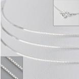 Zdjęcie - Srebrny łańcuszek kostka 42cm, próba 925