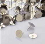 Zdjęcie - Sztyfty z talerzykiem do naklejania ze stali chirurgicznej 12mm