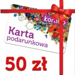 Zdjęcie - Karta podarunkowa o wartości 50 zł