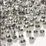 Zdjęcie - Zawieszka z kryształkiem hematite  7mm