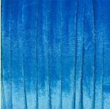Zdjęcie - Sznurek welurowy niebieski 1.5x6mm