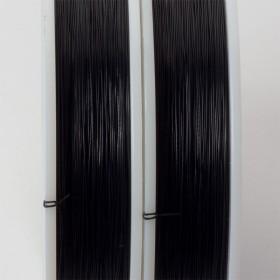 Zdjęcie - Linka stalowa Beadalon siedmiostrunowa 91m, 0.38mm czarna