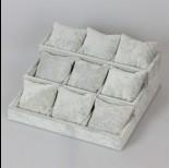 Zdjęcie - Ekspozytor schodkowy z poduszkami 9 komór 12x27x25cm