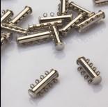 Zdjęcie - Zapięcie rozsuwane 4 sznurki ze stali chirurgicznej  25mm