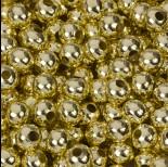 Zdjęcie - Kulki gładkie w kolorze złotym 8mm