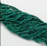 Zdjęcie - Malachit naturalny kulka fasetowana zielona 4mm