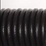 Zdjęcie - Rzemień naturalny lakierowany czarny 8mm
