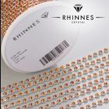 Zdjęcie - Taśma z kryształkami kolor srebrny hyacinth 3mm