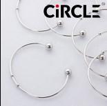 Zdjęcie - Baza bransoletki z kuleczkami ze stali chirurgicznej 16-20mm