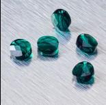 Zdjęcie - 5052 Swarovski mini round bead 8mm Emerald