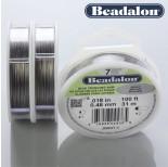 Zdjęcie - Beadalon linka powlekana 0.46mm grey color
