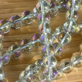 Zdjęcie - Kryształ górski kulka gładka multikolor 10mm