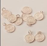 Zdjęcie - Srebrna zawieszka moneta ag925 11mm