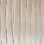 Zdjęcie - Sznurek welurowy beżowy 1.5x6mm