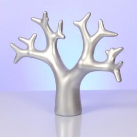 Zdjęcie - Srebrny ekspozytor drzewo 25x31cm