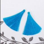Zdjęcie - Chwost z wiskozy niebieski 6,5 cm