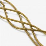 Zdjęcie - Hematyt platerowany krążek płaski matowy złoty 3x1mm