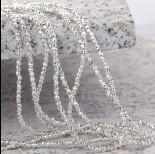 Zdjęcie - Hematyt platerowany kulka fasetowana white silver 2,5mm