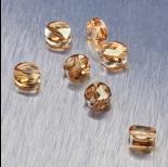 Zdjęcie - 5052 Swarovski mini round bead 6mm Golden Shadow