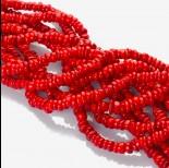 Zdjęcie - Oponki z czerwonego korala 40cm