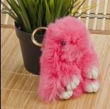 Zdjęcie - Zawieszka króliczek różowy 15cm