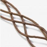 Zdjęcie - Hematyt platerowany krążek płaski matowy brązowy 3x1mm