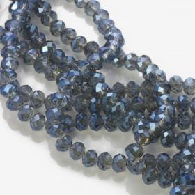 Zdjęcie - Kryształki oponki mistic blue 4x6mm