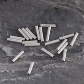Zdjęcie - Srebrne rurki gwiezdny pył 10mm, Ag925
