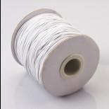 Zdjęcie - Gumka pleciona 1mm biała