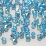 Zdjęcie - Fire Polish Dark Aquamarine AB (X60040) 3mm