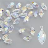 Zdjęcie - Swarovski twisted drop crystal AB 12mm