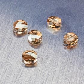 Zdjęcie - 5052 Swarovski mini round bead 8mm Golden Shadow