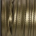 Zdjęcie - Rzemień szyty metallic płaski 8x2mm