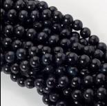 Zdjęcie - Czarne sokole oko kulka gładka 10mm