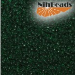 Zdjęcie - Koraliki NihBeads 12/0 Transparent Green Emerald