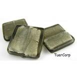 Zdjęcie - Szkło weneckie kwadrat czarny diament 25mm