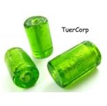 Zdjęcie - Szkło weneckie walec soczysta zieleń 20mm