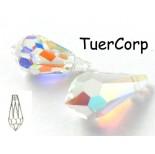 Zdjęcie - Swarovski tear drop 15mm crystal AB