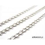 Zdjęcie - Srebrny łańcuch simple 3,3x4,2mm, Ag925
