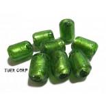 Zdjęcie - Szkło weneckie walec zielony 11mm